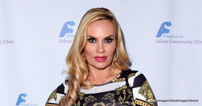 Ice-T's Wife Coco Dons Racy Leopard Print Dress to Celebrate 40th Birthday at the Playboy Club