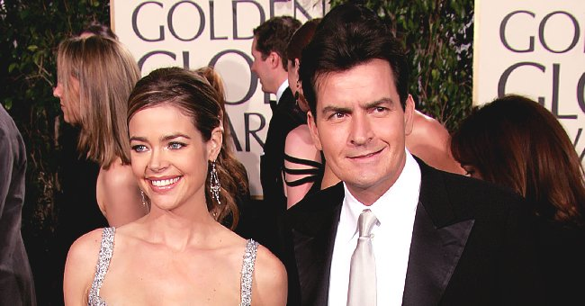 Denise Richards & Charlie Sheen's Teen Daughters Sam and Lola Looked so Grown up in Family Christmas Card