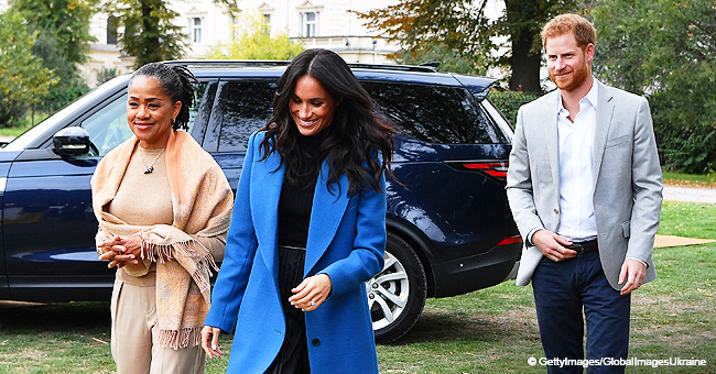 Meghan Markle's Mom Will Reportedly Fly to London to Be with Daughter for the Birth of Grandchild