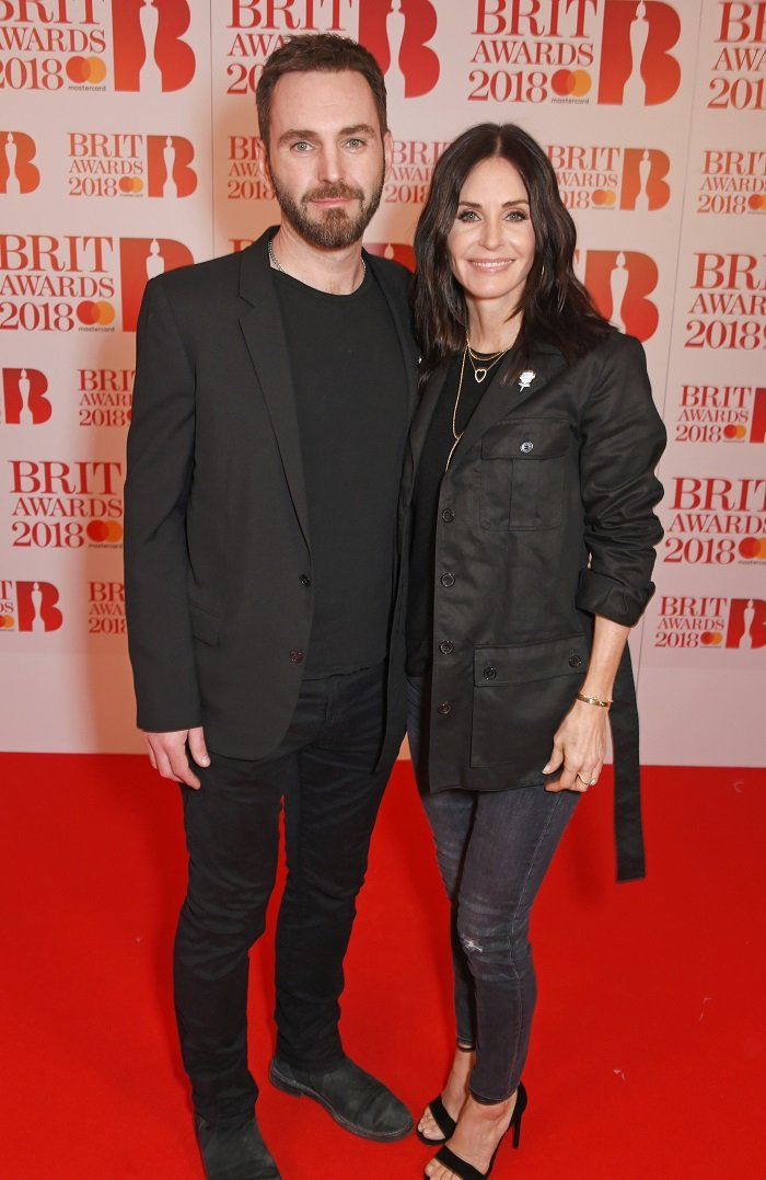 Courteney Cox and Johnny McDaid I Image: Getty Images
