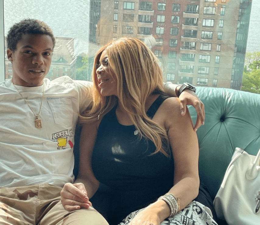 Wendy Williams and her son Kevin Hunter Jr. | Source: Instagram/wendyshow