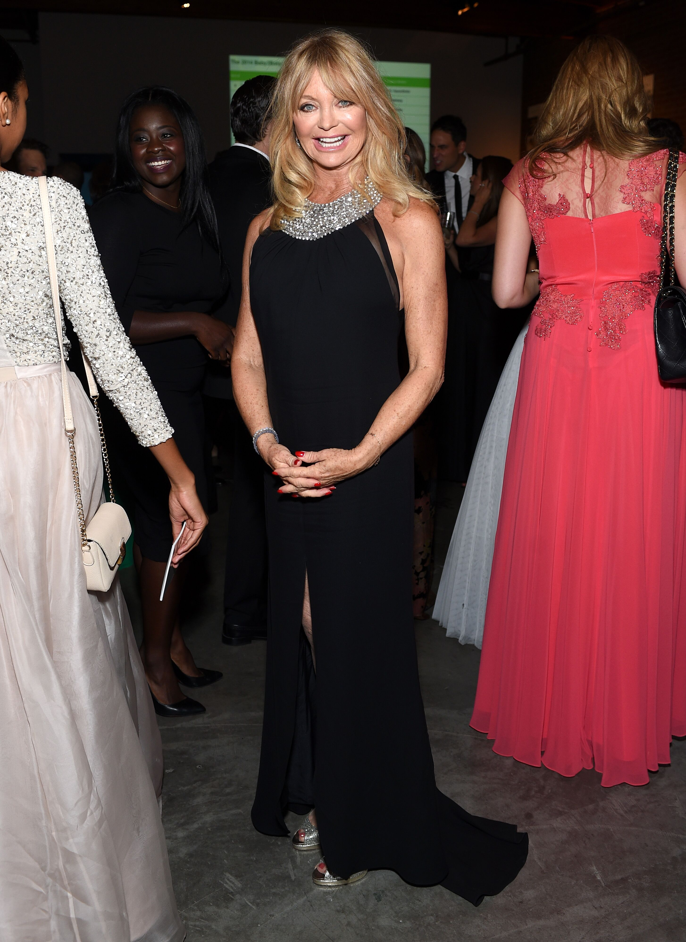 Goldie Hawn attends the 2014 Baby2Baby Gala, presented by Tiffany & Co. | Source: Getty Images