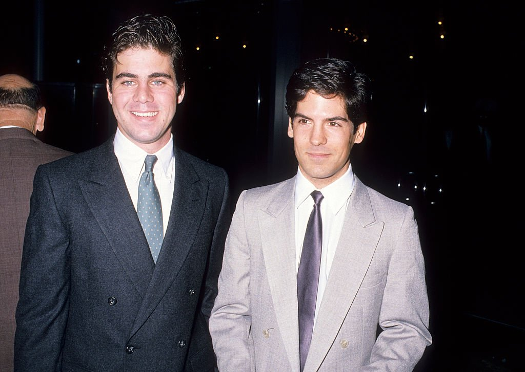 Patrick Labyorteaux and actor Matthew Laborteaux at Michael Landon's Second Annual Celebrity Gala to Benefit the National Down Syndrome Congress on October 15, 1988   Photo: Getty Images