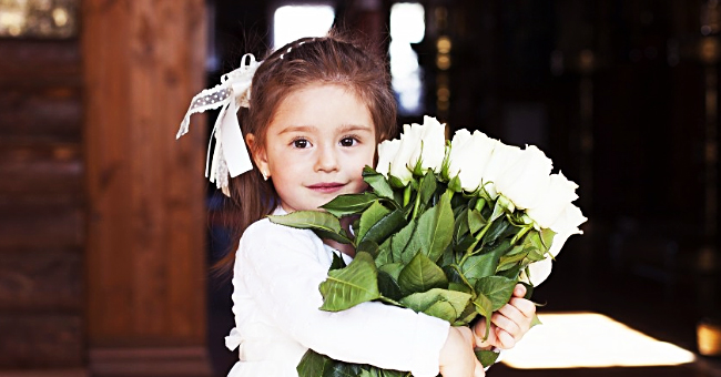 Daily Joke: A Young Girl Attends Her First Wedding and Watches the Ceremony with Interest