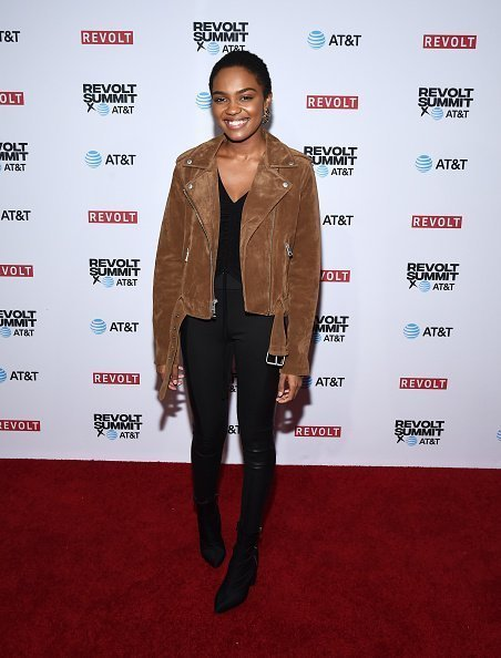 China Anne McClain attends the REVOLT and AT&T Summit on October 27, 2019 | Photo: Getty Images