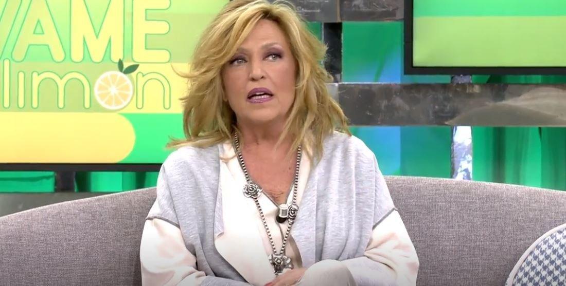 Lydia Lozada hablando. Fuente: Telecinco