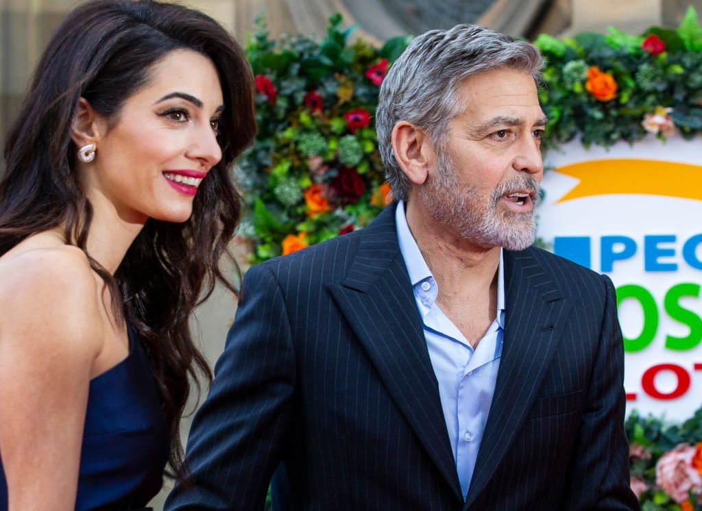 George and Amal Clooney attend the People's Postcode Lottery Charity Gala at McEwan Hall | Photo: Getty Images