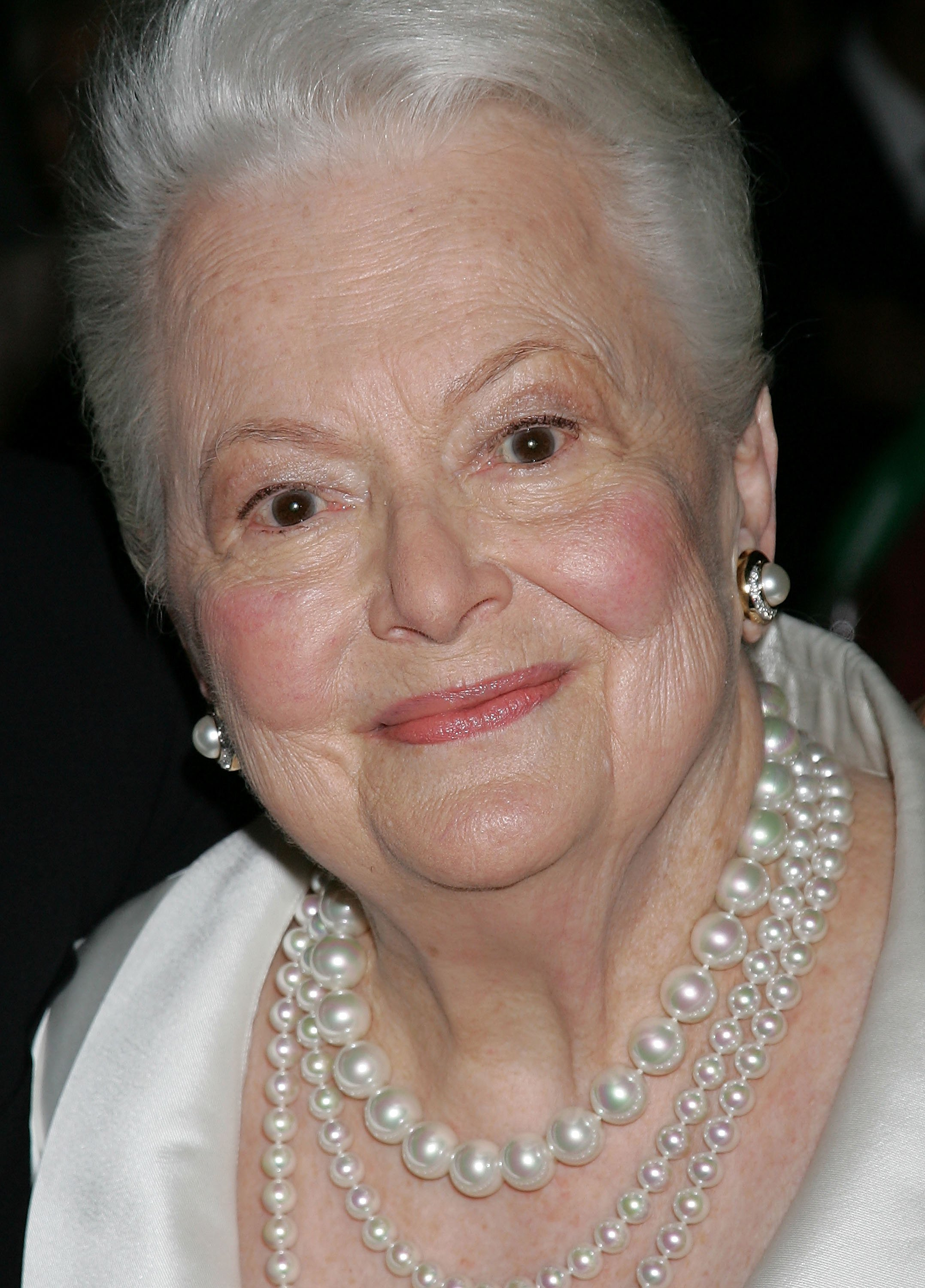 Actress Olivia de Havilland at the Academy of Motion Picture Arts and Sciences' tribute to Ms. de Havilland at the Academy of Motion Picture Arts and Sciences in Beverly Hills, California | Photo: David Livingston/Getty Images