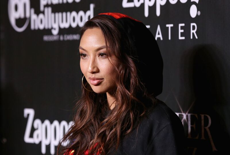 Jeannie Mai at the red carpet in Planet Hollywood | Source: Getty Images/GlobalImagesUkraine
