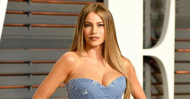 Sofia Vergara at the 2015 Vanity Fair Oscar Party hosted by Graydon Carter on February 22, 2015 in Beverly Hills, California. | Photo: Getty Images
