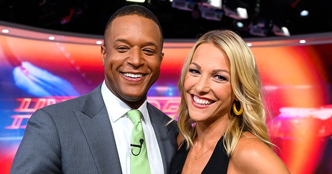 'Today' Host Craig Melvin's Wife Lindsay Poses in All-Blue Outfit with Huge Angel Wings
