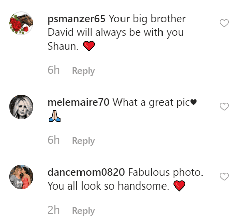 Fan comments on Shaun Cassidy's post | Instagram: @officialshauncassidy