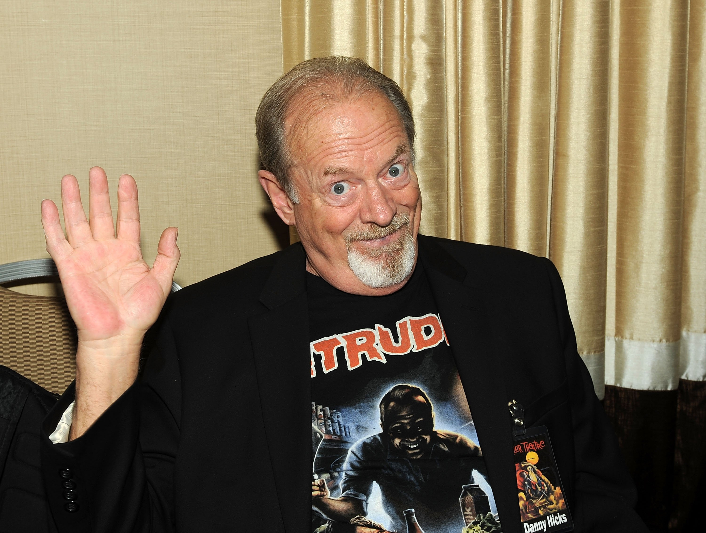 Danny Hicks attends the Chiller Theater Expo on April 22, 2016, in Parsippany, New Jersey.   Source: Getty Images.
