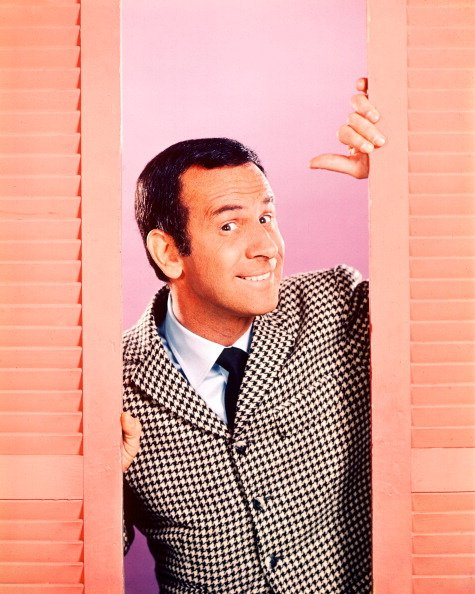 "Publicity photo of Don Adams for ""Get Smart,"" circa 1965. 