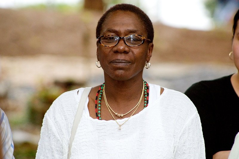 Afeni Shakur on September 9, 2006, in Stone Mountain, Georgia | Photo: Getty Images