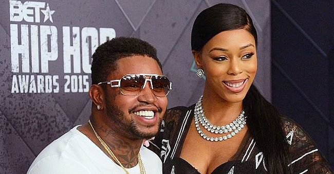 Lil Scrappy's Pregnant Wife Poses in 360° Video Showing Her Bare Baby Bump in Tight Black Dress