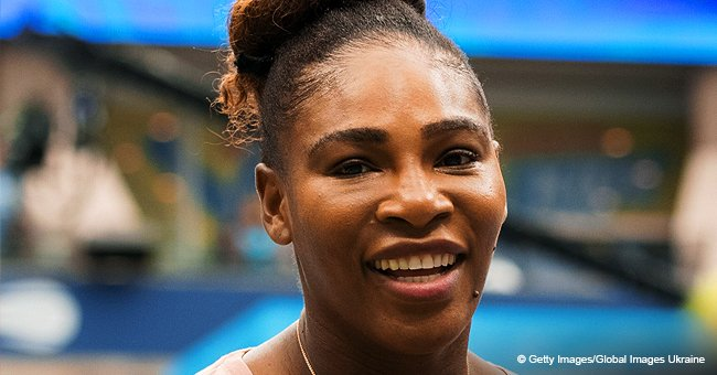 Serena Williams Shares Funny Video of Daughter Running around Tennis Court so Fast She Loses Shoe