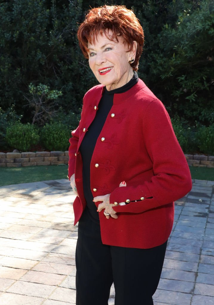"Marion Ross visits Hallmark's ""Home & Family"" at Universal Studios Hollywood. 