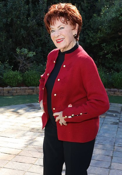 """Marion Ross visits Hallmark's """"Home & Family"""" at Universal Studios Hollywood on January 23, 2019, in Universal City, California. 