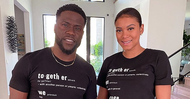 Kevin Hart and His Pregnant Wife Eniko Raise Money to Support Fight against Racial Injustice