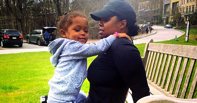 Keshia Knight Pulliam of 'Cosby Show' Fame Melts Hearts as She Works out with Adorable Daughter Ella in Photo
