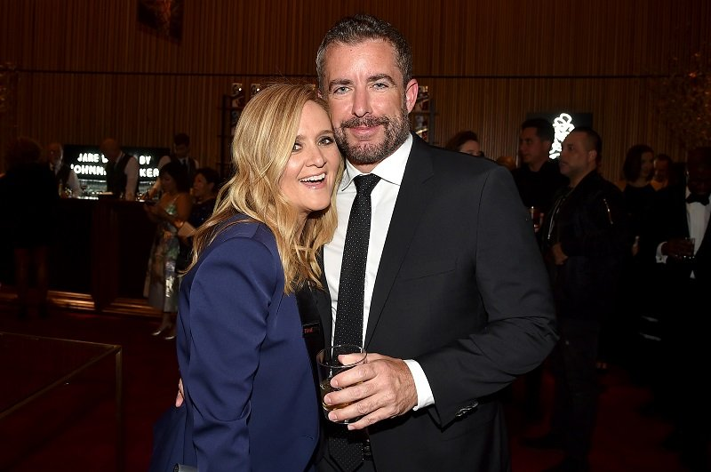 Samantha Bee and Jason Jones on April 24, 2018 in New York City | Photo: Getty Images