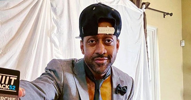 Jaleel White of 'Family Matters' Looks Cool in 'Black Don't Crack' Face Mask