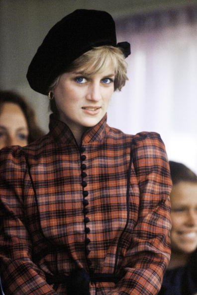 Princess Diana at the Braemar Highland Games in Scotland, September 1981. | Photo: Getty Images