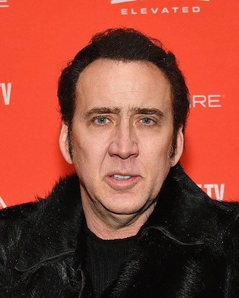 Nicolas Cage en la Biblioteca de Park City, el 19 de enero de 2018 en Park City, Utah. | Foto: Getty Images