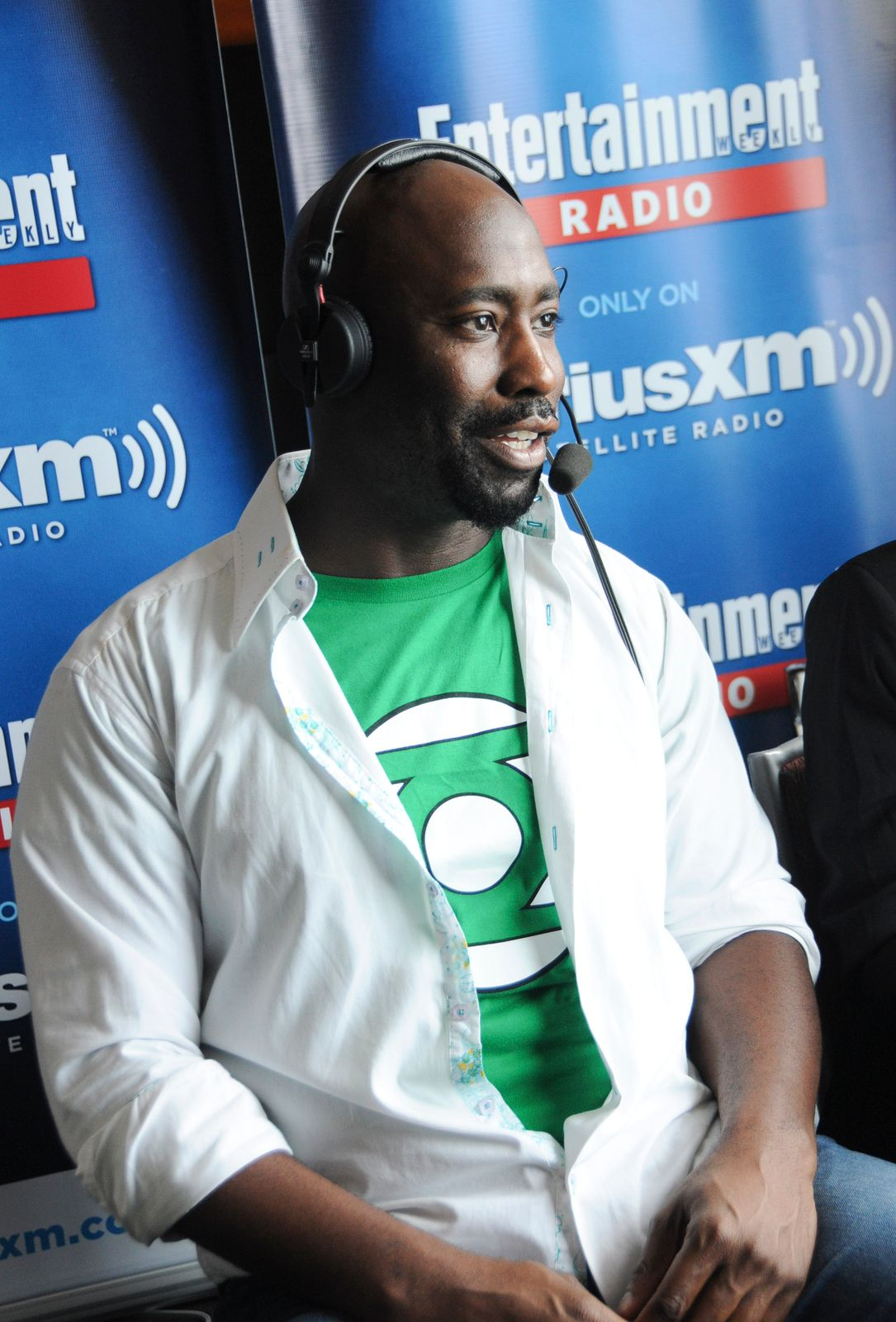 D.B. Woodside at SiriusXM's Entertainment Weekly Radio Channel Broadcasts From Comic-Con 2015 in San Diego on July 10, 2015 | Getty Images
