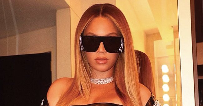 Beyoncé Pours Her Curves into Black Latex Mini Dress & Crystalized Jacket in a New Shoot