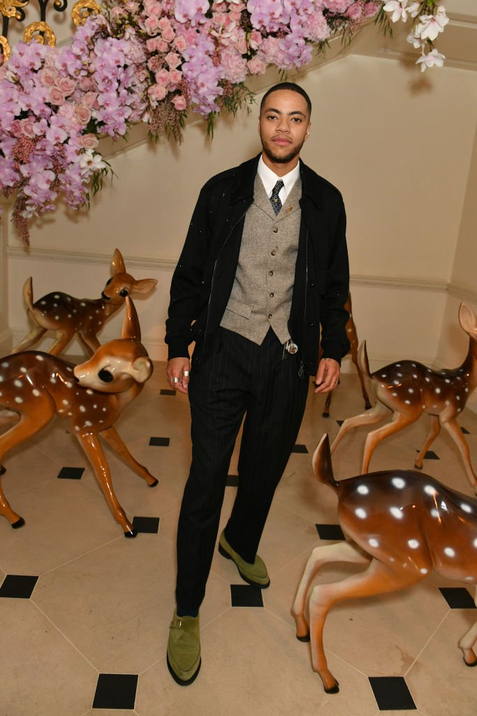 Izaak Theo Adu attends the Burberry Autumn/Winter 2020 show after party, hosted by Riccardo Tisci, on February 17, 2020 | Photo: Getty Images