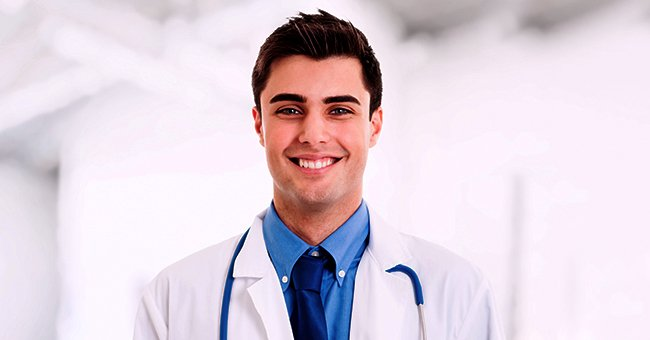 Daily Joke: Medical School Student Working Two Jobs Meets Elderly Lady Who Recognizes Him