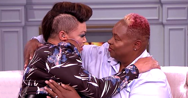 Tisha Campbell Has Tearful Reunion with Her Long-Lost Half-Sister on 'The Real'