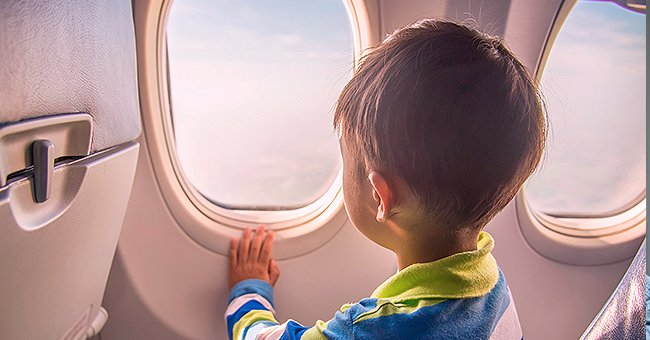 Daily Joke: Boy Throws Tantrum on a Plane but Gets Put in His Place