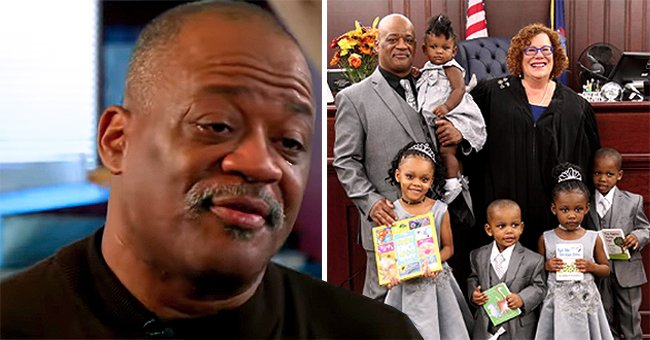 Single Foster Dad Lamont Thomas Adopts 5 Siblings under the Age of Five to Keep the Family Together