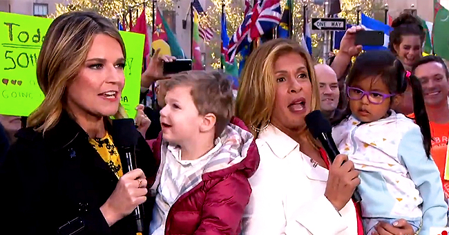 Hoda Kotb and Savannah Guthrie Brought Their Children on the 'Today' Show