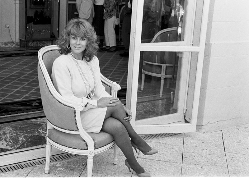 Actress Ann-Margret attends the Deauville American Film Festival (Normandy, France) in September 1988. | Source: Wikimedia Commons
