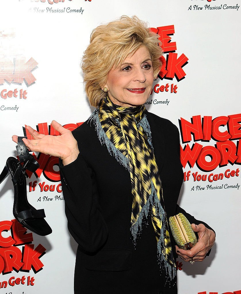 "Concetta Tomei attends the ""Nice Work If You Can Get It"" Broadway. 