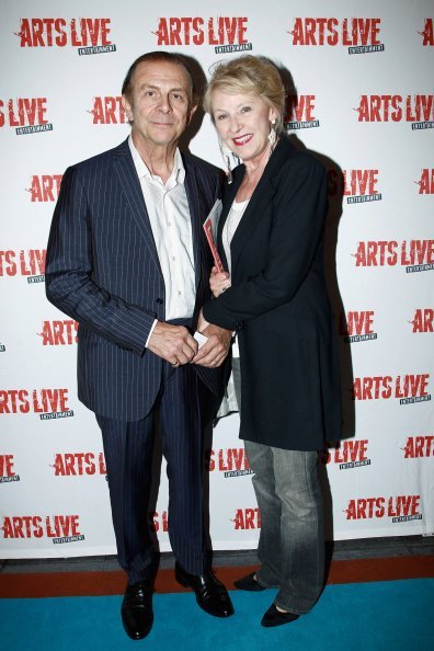 Roland Giraud and his wife Maaike Jansen attend 'Open Space' Premiere At Theatre du Rond Point on September 10, 2014 in Paris, France. | Photo : Getty Images