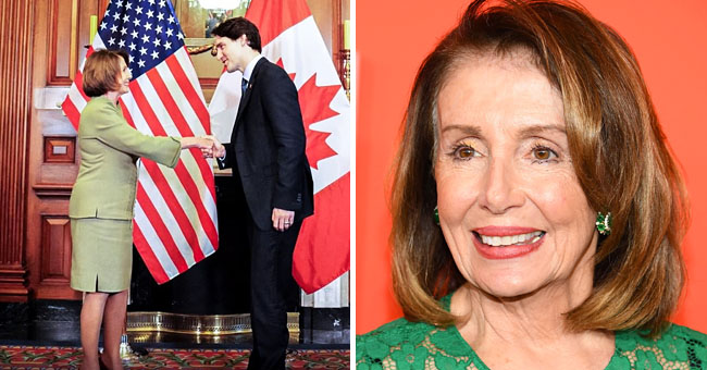 Nancy Pelosi Makes a Friendly Wager with Canadian Prime Minister Justin Trudeau
