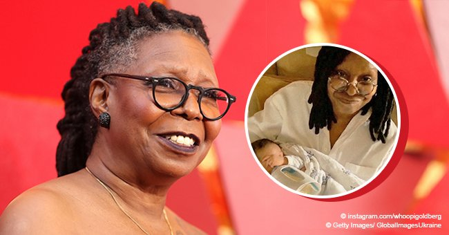 Whoopi Goldberg's great-granddaughter grows by leaps and bounds, and she's the epitome of cuteness