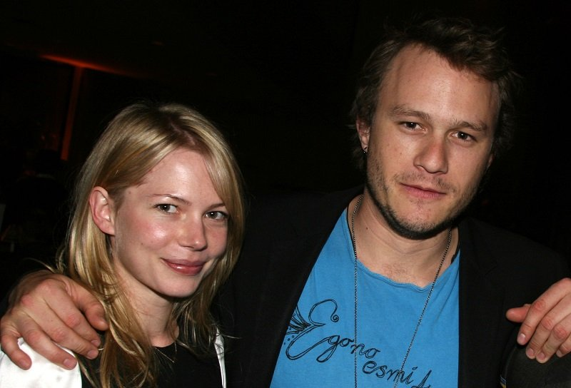 Michelle Williams and Heath Ledger in New York City on April 17, 2006.   Photo: Getty Images