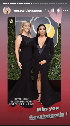 Eva Longoria shared a stunning photo to celebrate Reese Witherspoon's birthday. | Photo: Instagram/reesewitherspoon