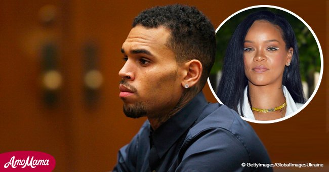 Rihanna's former boyfriend Chris Brown arrested on rape charge