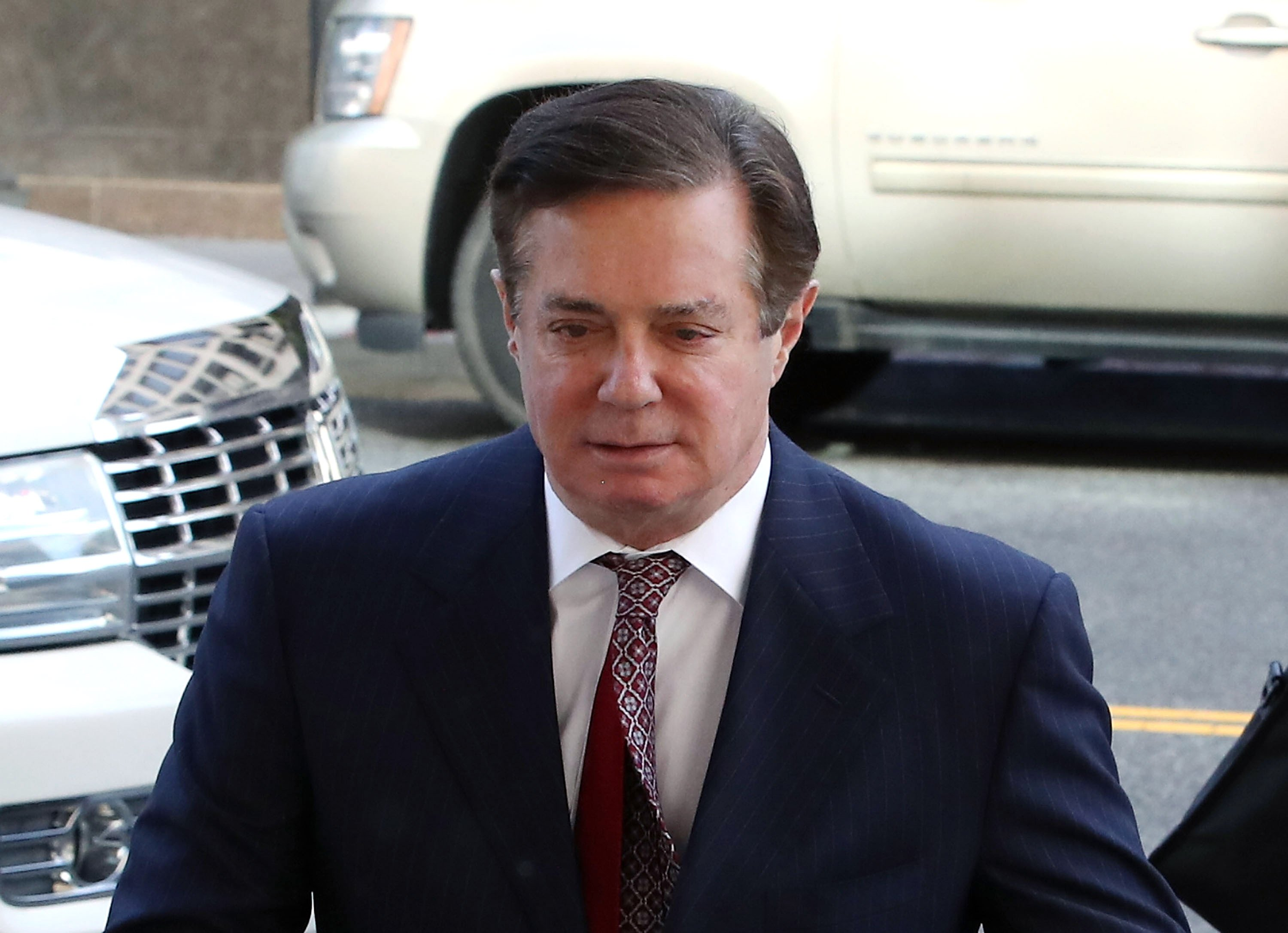 Paul Manafort outside the E. Barrett Prettyman U.S. Courthouse in Washington D.C. | Photo: Getty Images