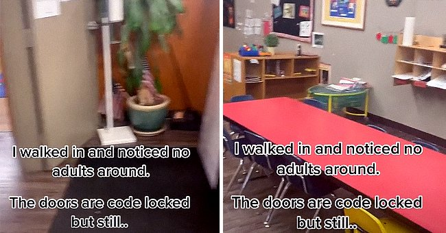 Woman walked in on kids unattended at daycare.   Photo: TikTok/toledo.girl420
