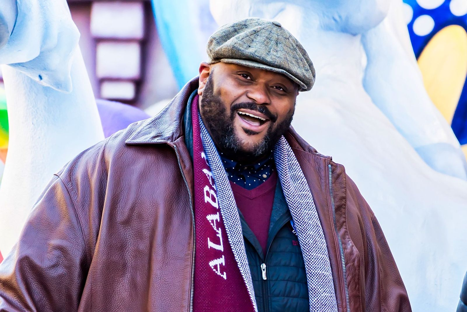 Ruben Studdard at the 98th Annual 6abc/Dunkin' Donuts Thanksgiving Day Parade on November 23, 2017 | Photo: Getty Images