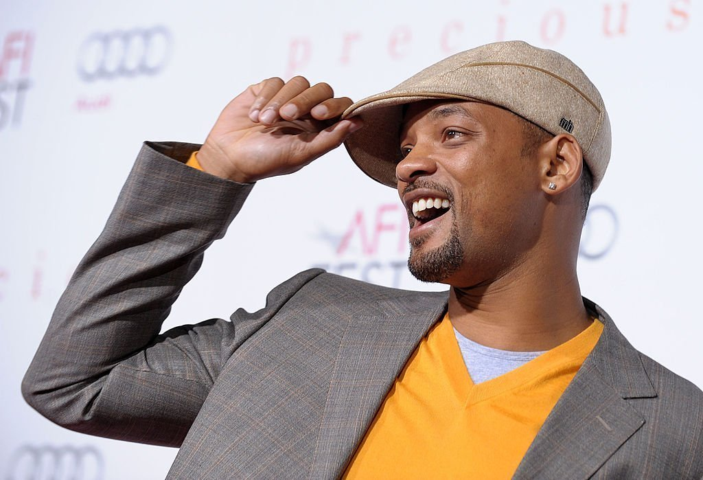 "Actor Will Smith arrives at the screening of ""Precious: Based On The Novel 'PUSH' By Sapphire"" during AFI FEST 2009 held at Grauman's Chinese Theatre 