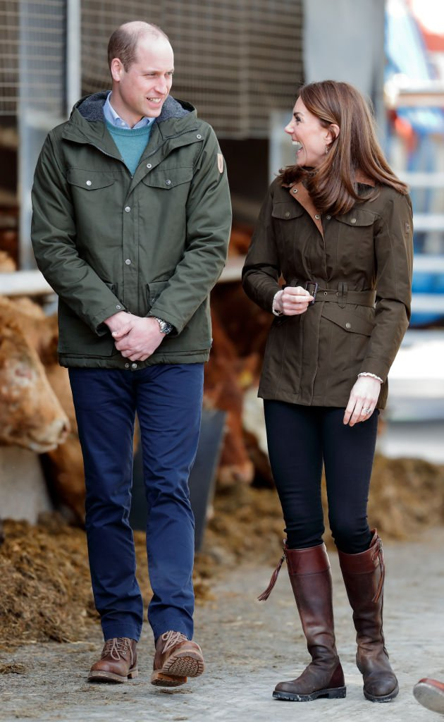 Prince William and Kate Middleton visit the Teagasc Animal & Grassland Research Centre on March 4, 2020 in Dublin, Ireland.   Photo: Getty Images